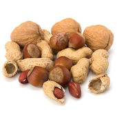 Various nuts mix — Stock Photo
