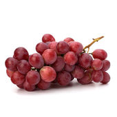 Perfect bunch of red grapes — Stock Photo