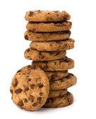 Cookies au chocolat de pâtisserie maison — Photo