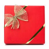 Luxurious gift isolated on white background — Stock Photo
