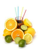 Citrus fruit juice — Stock Photo