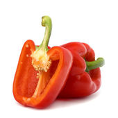 Sweet pepper isolated on white background — Stock Photo