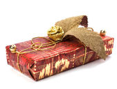 Gift isolated on white background — Stock Photo