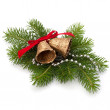 Christmas decoration with bells — Stock Photo #7394658
