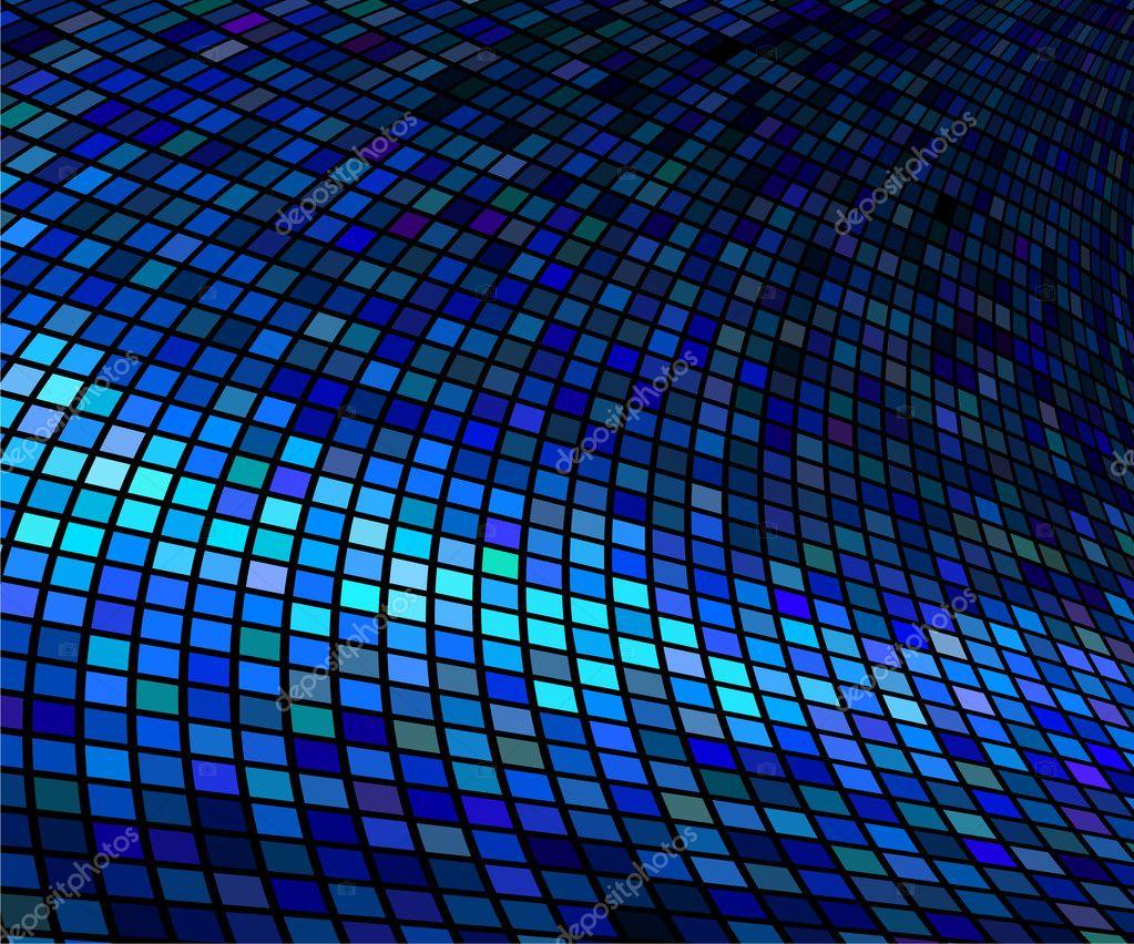 fondo azul resumen luces discoteca vector � vector stock