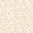 naadloze abstracte handgeschreven tekstpatroon — Stockvector