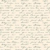 Patrón de texto manuscrito abstracta sin costuras — Vector de stock