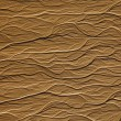 Dendriform texture on sand — Stock Photo