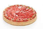 Strawberry tartu — Stock Photo