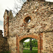 Castle ruins - Stock Photo
