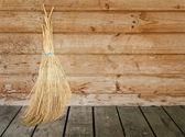Natural Broom — Stock Photo