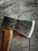 Old axe — Stockfoto