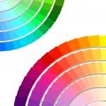 Color spectrum palette — Stock Vector