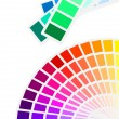 Color spectrum palette — Stock Vector