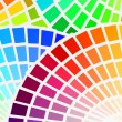 Color spectrum background - Vektorgrafik