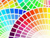 Color spectrum background — Stock Vector