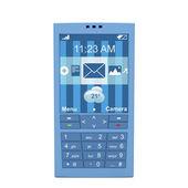 Portable bleu — Photo