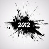 New year grunge design — Vector de stock