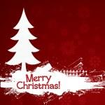 Grunge Christmas Background — Stock Vector #7143925