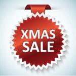 Xmas sale vector banner — Stock Vector #7228107