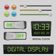 Royalty-Free Stock Imagem Vetorial: User interface design elements