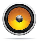 Car Loudspeaker Icon — Stock Vector