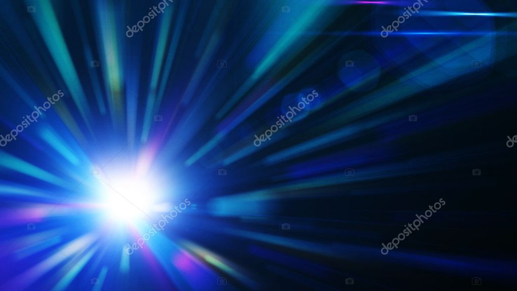 Blue burst, abstract background for your artwork — Stock Photo #7499465