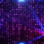Purple disco lights background — Stock Photo