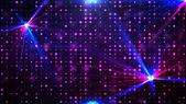 Paarse disco lichten achtergrond — Stockfoto