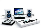 Home Recording Studio Equipment — Stock Photo