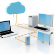 Cloud Computing Concept — Stock Photo #7468376