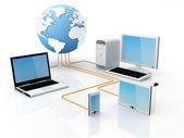 Globální komunikace — Stock fotografie