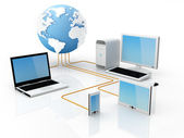 Internationale kommunikation — Stockfoto
