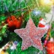 Christmas Tree Decorated — Stock Photo #7362482