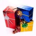 Подарки на Рождество — Stock Photo #7419191
