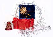 Подарки на Рождество — Stock Photo