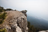 View of Yalta from Mount Ai-Petri in Crimea — Stock Photo