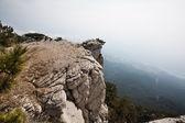View of Yalta from Mount Ai-Petri in Crimea — Stock Photo