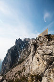 The cable car station on Mount Ai-Petri in Crimea — Stock Photo