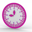 Foto Stock: Wall clock