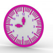 Wall clock — Stock fotografie #6980926