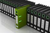Many folders — Stock Photo