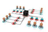 Network server — Stock Photo