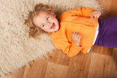 Laughing girl — Foto Stock