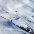 Skiing slope - Foto Stock