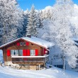 Winter holiday house — Stock Photo #7121880