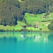 Small alpine lake — Stock Photo #7122757