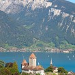 Spiez castle — Stock Photo