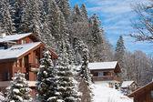 Vintern holiday house — Stockfoto
