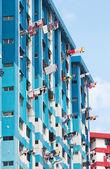 Public housing apartment block — Stock Photo